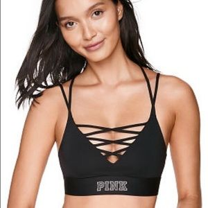 VS Pink • Strappy Sports Bra